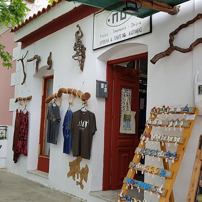 Nice T-shirts, handmade jewellery and Souvenirs from #ikaria