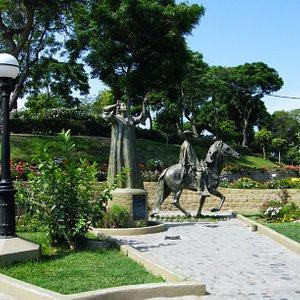 El monumento a la canción criolla y a Chabuca Granda