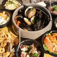 Il nostro menù degustazione composto da otto portate