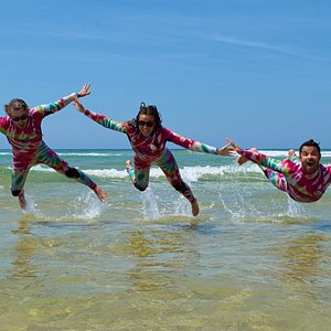 La Team Gang surf