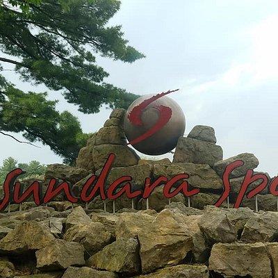 Sundara Spa sign