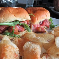 Pork belly sliders  OUT OF THIS WORLD GOOD!!! So yummy. I can't wait to eat them again.