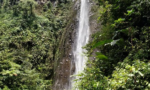 waterfall Chute du Carbet