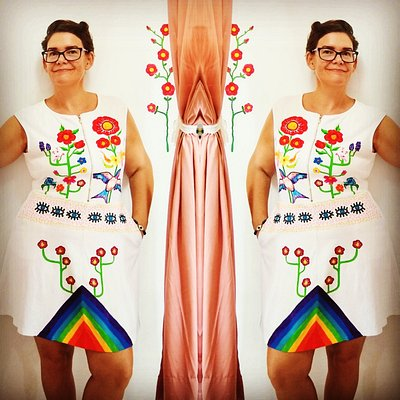 Beautiful bohemian hand painted clothing. Custom order your own unique piece of wearable art