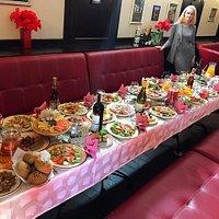 lots of food!!!!!!