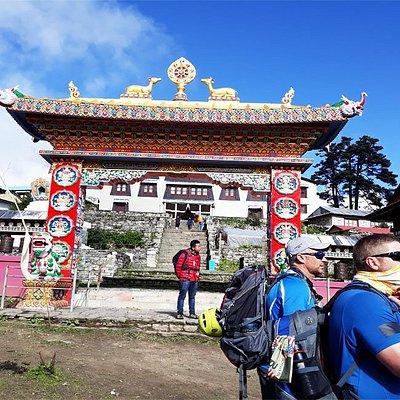 Eastern Nepal Khumbu Region Tengboche Monastery ( Dawa Choling Gompa).