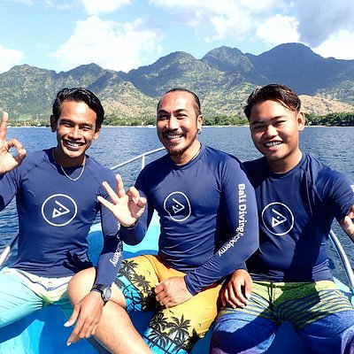 Instructor and Divemaster