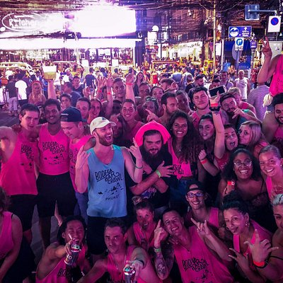 Phuket's largest Pub Crawl. Bangla road!