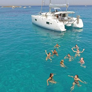 Swim in the magnificent crystal clear water of the Aegean Sea