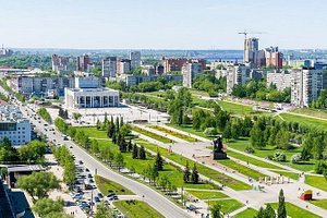Discover fantastic Perm during panoramic city tour by car