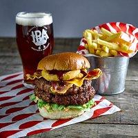 Signature Stack burger