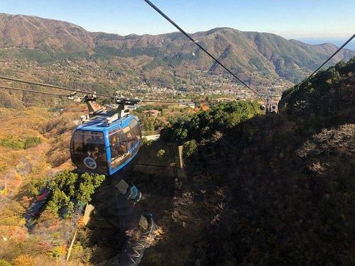 Hakone ropeway ride Nov 2018.