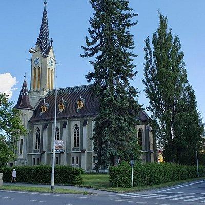 Evangelický kostel v Krnově