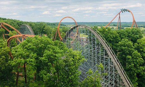 Take a ride in the country! Ride some of the world's most amazing roller coasters only at Holiday World!