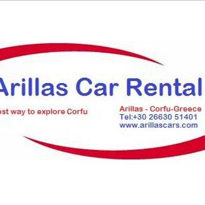 Arillas Rent a Car logo