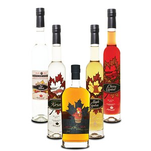 """Award winning spirits and liqueurs made in Penticton.  Our """"Lady of the Cask"""" wine brandy has aged in oak since 2010. It is a special treat for guests who love Cognac or other fine European wine brandies"""