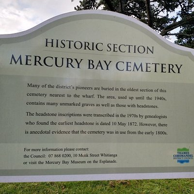 Mercury Bay Cemetery
