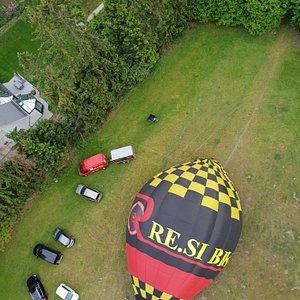 Onvergetelijke ervaring! Een vlotte organisatie van een unieke, zalige ballonvlucht over het mooie Waasland  in een fijne sfeer.