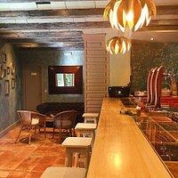 La barra de Vaoke Gastro Bar.