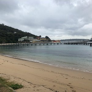 These buildings at Chowder Bay are just inside Headland Park but the best part is the Georges Head fortifications, which I could not find a photo of