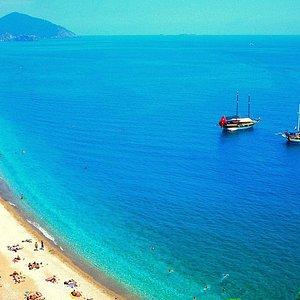 Olympos beach near Kemer - Vigo Tours