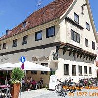 Gemütliches Restaurant an der Memminger Ach