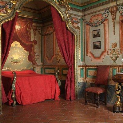 Habitaciones decoradas con todo su esplendor para mostrar el poder de una familia de alto poder adquisitivo.