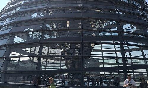 Reichstag -  Cúpula do Parlamento - Berlim