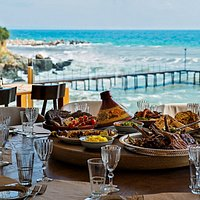 THE BAY - beach, fish & bbq | Sts. Constantine & Helena Resort  Where the sky kisses the sea...