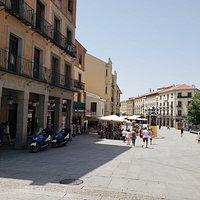 Plaza del Azoguajo Segovia, España