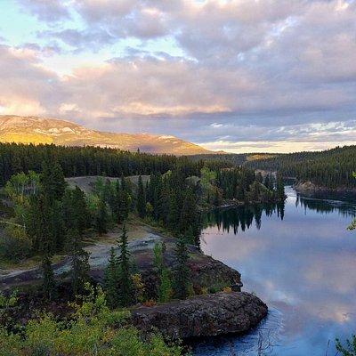 Yukon River at Miles Canyon