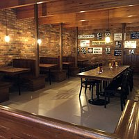 1851 Underground front dining room. Available for lunch, or dinner or large groups.