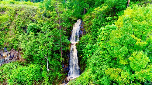 30m 3-Tier Waterfall on 180 acre property
