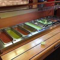 Awesome Salsa Bar with every order.