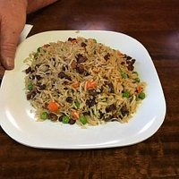 Boar Bacon Fried Rice