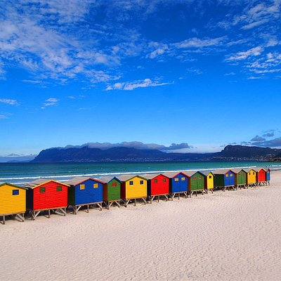 Since Muizenberg is a popular surf town, why not learn to surf on your visit? Muizenberg is a small beach town suburb of Cape Town