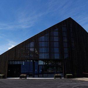 The exterior of Sagastad