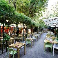 cenare in giardino o nella veranda?