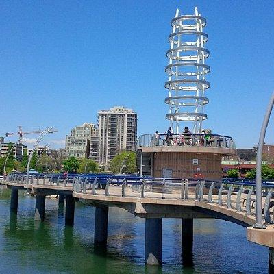 Modern pier
