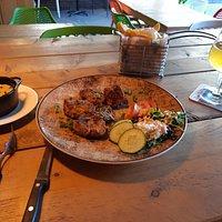 Varkensmedaillons met champignon roomsaus en Hanneker Weizen