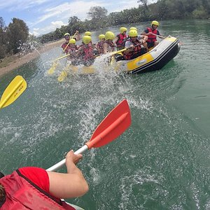 Rafting time!