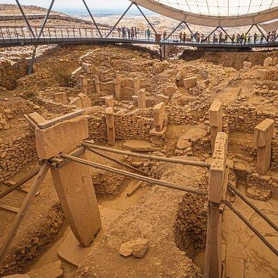 Ausgrabung in Göbekli Tepe