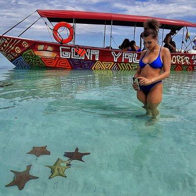 Visita a la Piscina Natural donde podrá observar y conocer sobre las Estrellas de Mar en su estado natural