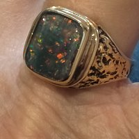 Opal ring after polish by Greg