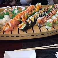 7 special rolls platter