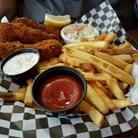 Grain Station Brew Works - fish & chips
