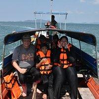 Boat to Ko lidi