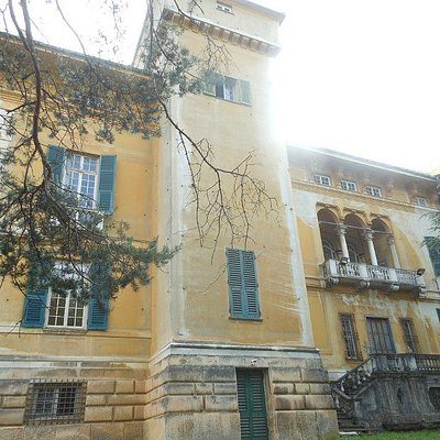 facciata di villa Borzino