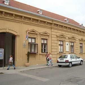 Birth House of the first Croatian Nobel Prize Winner Lavoslav (Leopold) Ružička in the J.J. Strossmayer Street in Vukovar.