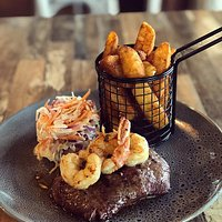 Beef & Reef available every Wednesday steak night from 5pm!